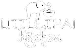 Little Thai Kitchen Logo Dark Footer